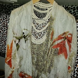 Hawaiian Accessories - Scarf Vest Perfect For Spring & Summer